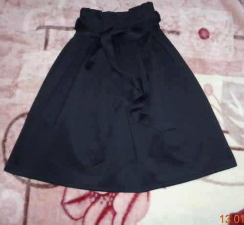 Черная юбка asos.