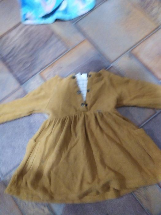 Продам платье теплее Зара на девочку Николаев Жовтневый - изображение 1