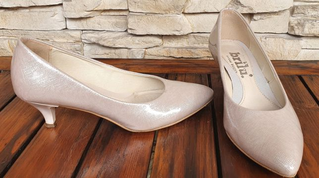 Buty ślubne BRILU roz. 37 skóra