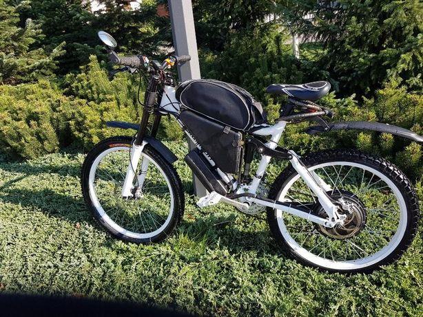 Rower Elektryczny 12,5kW full V-max 90km/h zasięg 200km Bestia :)