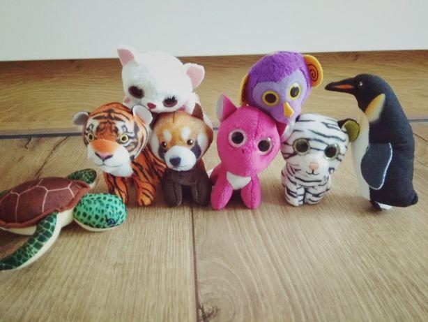 Zestaw 8 zabawek z McDonald (pluszaki zwierzątek)