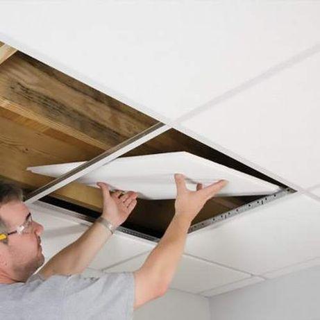 Подвесной потолок (подвесная система) типа Армстронг (Armstrong)
