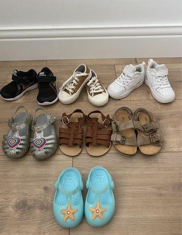 Обувь Nike, Crocs, Zara