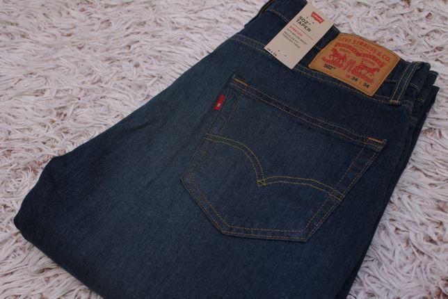 Новые джинсы Levi's 502 Taper 34x34, цвет Rosefinch