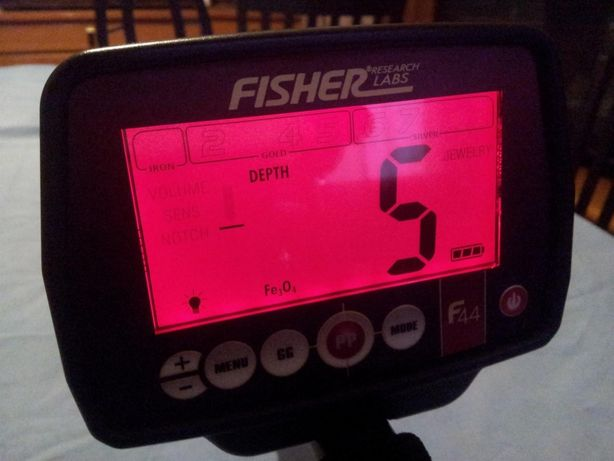 Металлоискатель • Металлодетектор • Fisher F44 • Бесплатная доставка