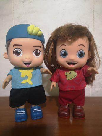 Conjunto Luccas Neto + Gi - Envio 1 Dia - Boneca Giovanna e Lucas
