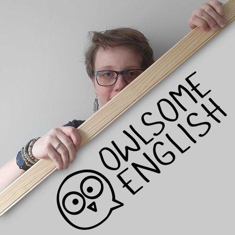 Angielski - online z fakturą-korepetycje, konwersacje, egzamin, matura