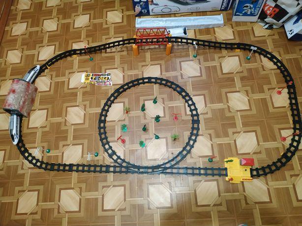 Трек, железная дорога, поезд на ру