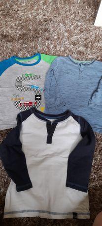 Koszulki t-shirty r 98/104 h&m lupilu 5.10.15