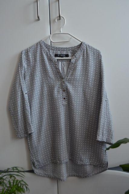 Wzorzysta koszula biurowa, rękaw 3/4 Top Secret