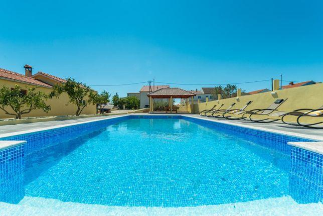 CroWonder, Chorwacja2021, Bibinje, willa z basenem dla 10 osób, GO