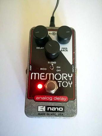 Pedal delay Electro Harmonix Memory Toy - analog delay - USA