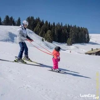 Пояс страховочный детский для обучения катанию на горных лыжах SKIWIZ