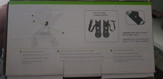 Adapter baby jogger city select do fotelika Cybex Nuna Maxi Cosi