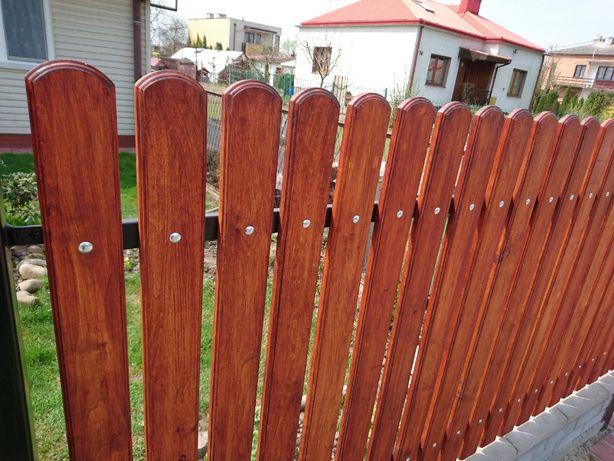 Drewniane SZTACHETY olchowe szlifowane bardzo wysoka jakość