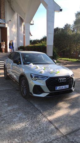 Auto do ślubu Audi Q3 Sportbeck i BMW X4