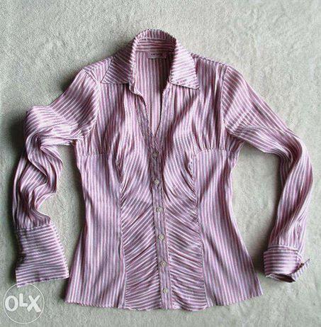 Koszula w biało-fioletowe paseczki Orsay rozm. S
