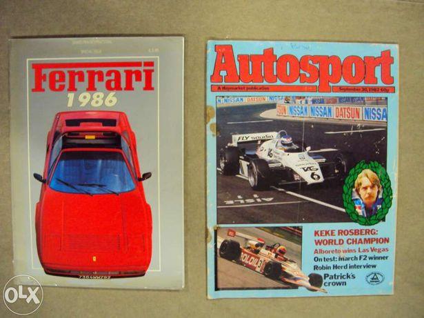 12 Revistas e livros F1 / Formula 1