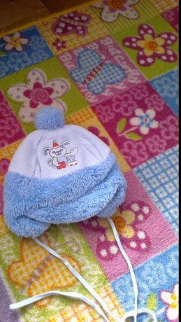 Czapka zimowa dla niemowlaka nowa