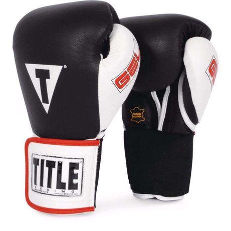 Боксерские перчатки для бокса TITLE GEL World Elastic Training Gloves