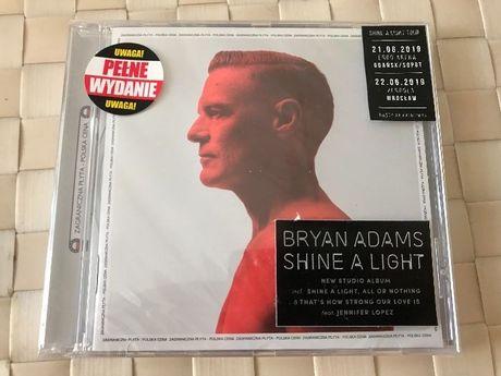 Nowa zafoliowana płyta Bryan Adams Shine a Light