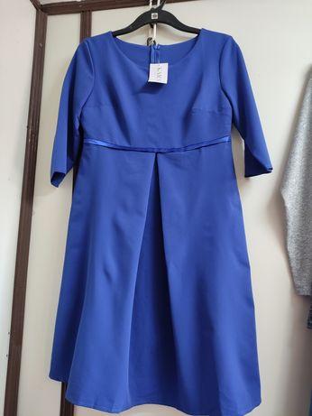 Sukienka haber niebieska z metka nowa 40 l