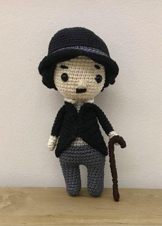Chaplin em crochet / amigurumi