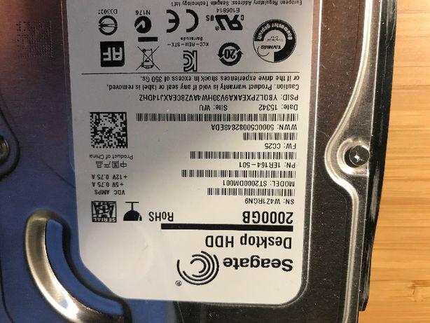 Seagate HDD 2 TB ST2000DM001