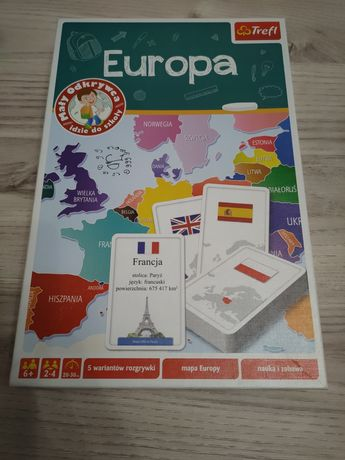 "Gra edukacyjna ,,Europa"""