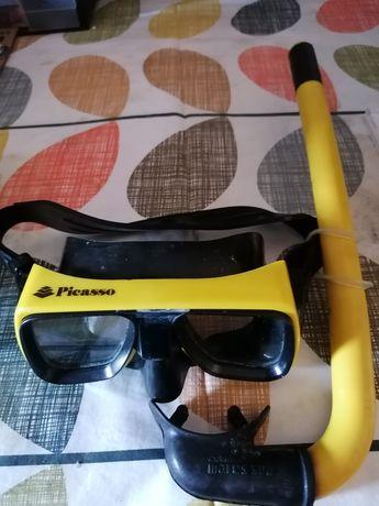Óculos Picasso caça submarina
