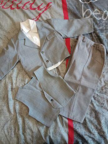 Ubranko garnitur dla chłopca roczek wesele