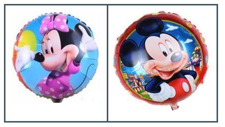 Balões - Mickey e Minnie
