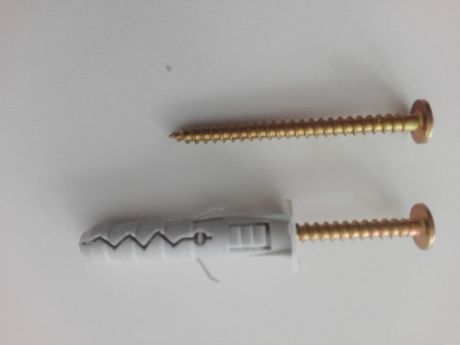 kołki rozporowe haki wkręty różne rozmiary paczka 10 szt