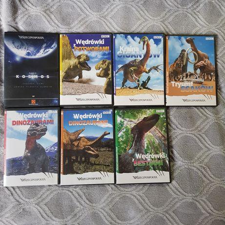 Filmy DVD o dinozaurach