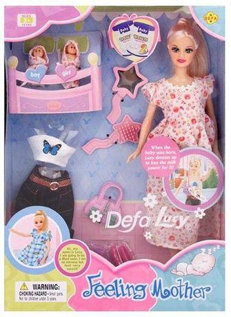 Кукла беременная с детками