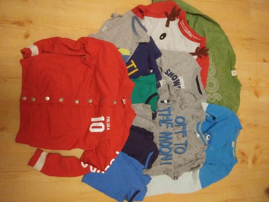 Koszulki dla chłopca r.122 Łódź - image 1