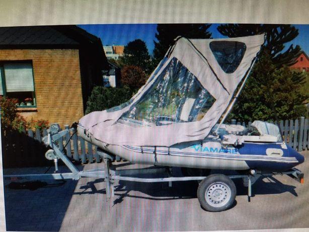 Zadaszenie do pontonu, łódki składane.