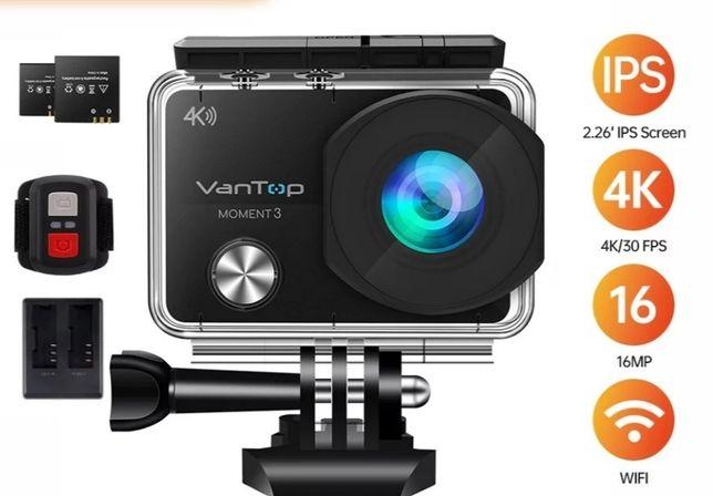 Câmera de ação 4K   VanTop   Gopro