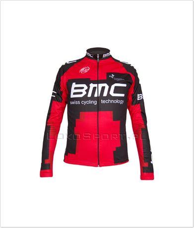 Ocieplana bluza kolarska BMC, rozmiary od S do 4XL
