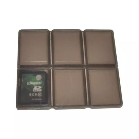 Коробочка , складной чехол для карт памяти SD / Micro SD/ TF / XD