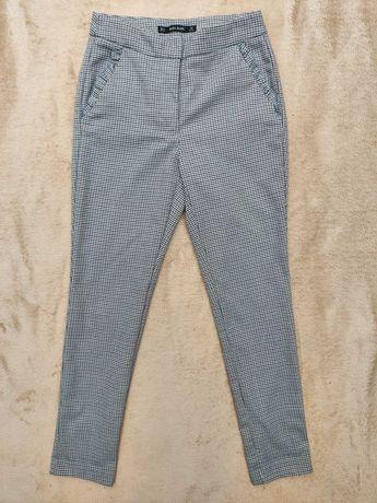 Серые брюки zara