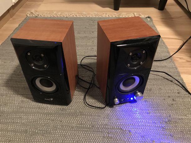 Zestaw głośników na kabel AUX Genius