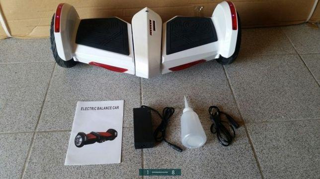 Deskorolka elektryczna hoverboard nowa bluetooth led para wodna
