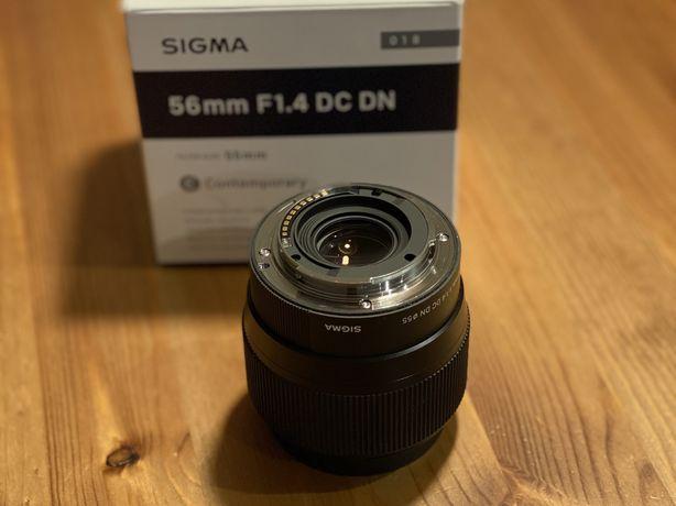 Obiektyw Sigma 56mm 1.4 DC DN Sony E