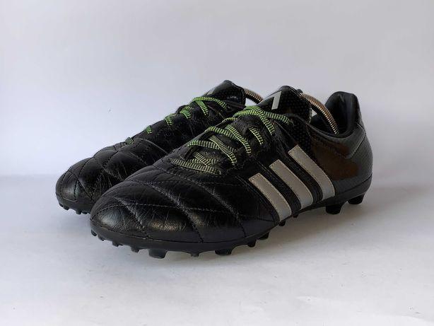 Копки бутси шкіряні Adidas Оригінал Розмір 40 (25 см) Стан відмінний!