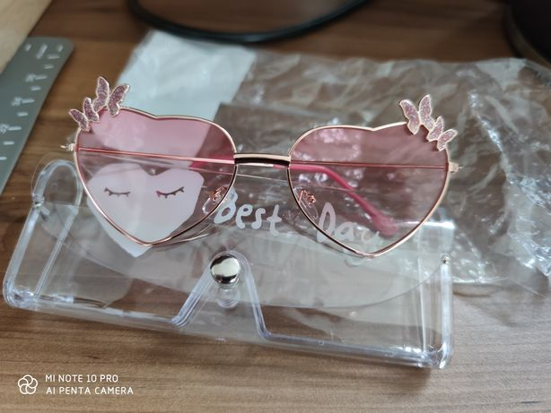 Okulary przeciwsłoneczne Motylek