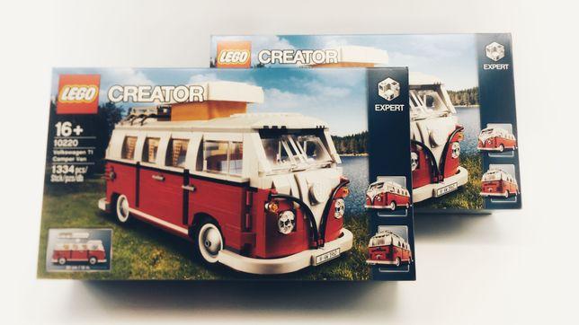 LEGO Creator Expert 10220 Volkswagen T1 Camper Van NOWY ZAPLOMBOWANY