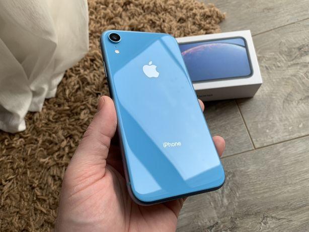 iPhone Xr 64gb Blue Гарантия Rsim #s0062