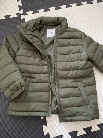 Wiosenna kurtka 104 przejściowa khaki