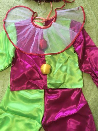 Прокат детского костюма клоуна( Петрушки)